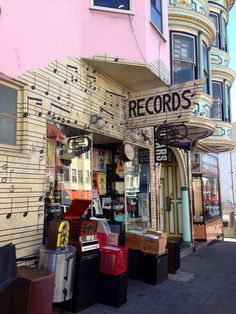 101 Music // San Francisco Record Store // 1414 Grant Ave,  San Francisco, CA 94133 b/t Union St & Green St in North Beach/Telegraph Hill