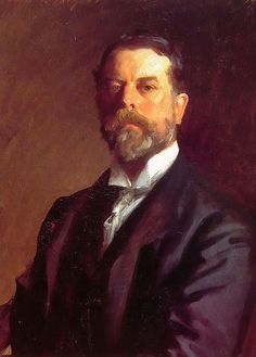 John Singer Sargent self-portrait. I think he's one of the best painters ever, there's so much feeling and warmth in his art
