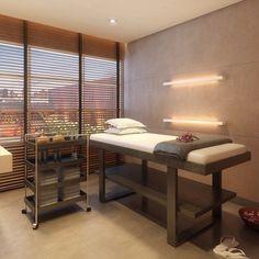 Espaço Massagem por Camila Klein Arquitetura e Interiores