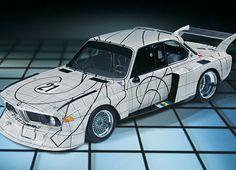 Frank Stella, BMW Art Car 02 | United States | 1976 BMW 3.0 CSL — The BMW Art Car Collection
