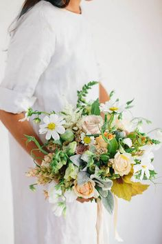 summer wildflower bouquet by sarah winward