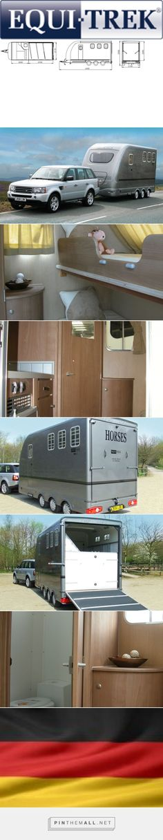 I love European horse trailers. Multi Treka, Horse Trailers | Horsebox Manufacturers UK | Equi-Trek - created via https://pinthemall.net