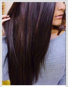 Deep plum brown