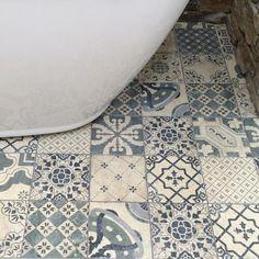 Pavimento Antiqua Glazed Ceramic Decor Tile 200x200mm - Decorative Tiles