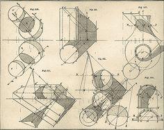 da vinci geometric sketches - Google Search