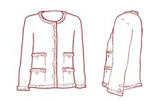 Excellent blog post - lots of research into construction of Chanel style jacket