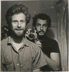 Mark di Suvero, sculptor and Danny Lyon, photographer
