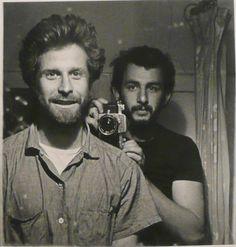 Mark di Suvero, sculptor and Danny Lyon, photographer
