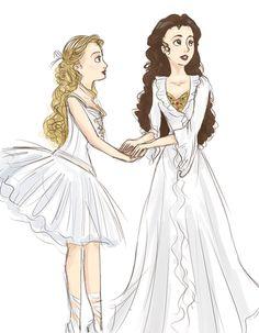 Crafts-phantom of the opera My dream roles-Christine and meg