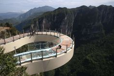 For bravehearts only: 13 thrilling skywalks around the globe - Imaginechina/Corbis