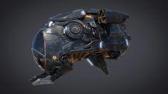 ArtStation - Bee Spaceship, Damien Guimoneau
