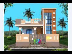 Village House Design, Village Houses, Modern Small House Design, Front Elevation Designs, Architecture, Arquitetura, Architecture Design