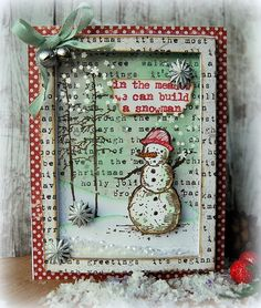 Kath's Blog......diary of the everyday life of a crafter: Tim Holtz Holiday Inspiration Series - We Can Buil...