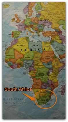 South Africa - You will not believe how many foreigners ask me if South Africa is a 'province' in Africa. They think Africa is one country and Africans speak one language! Africa Map, Out Of Africa, Africa Travel, African Culture, African History, South Afrika, Honeymoon Places, Historical Maps, African Countries