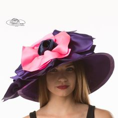 Anisha is a beautiful and elegant hat by Christine A Moore. 26819cb2248a