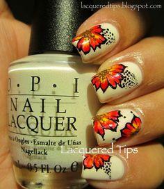 LACQUERED TIPS #nail #nails #nailart