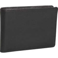 Dopp Genuine Leather Convertible Cardex Wallet Black