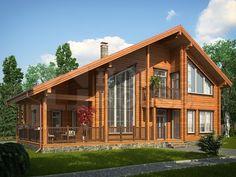 Каталог проектов деревянных домов Holz-House