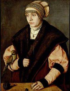 A Woman, ca. 1529  (Barthel Beham)  (1502-1540) Kunsthistorisches Museum, Wien GG_3483