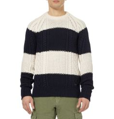 Burberry Brit + Striped Wool and Cashmere-Blend Sweater+MR PORTER