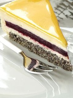 Hungarian Desserts, Hungarian Cake, Hungarian Recipes, Fun Desserts, Dessert Recipes, Smoothie Fruit, Cheescake Recipe, Mousse Cake, Cakes And More