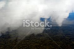 Cloud & Sky Reflection in Water Royalty Free Stock Photo