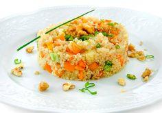 Risoto de quinua e abóbora garante proteína extra na dieta e fome sob controle