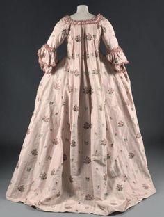 Robe à la française ca. 1770 From Thierry de Maigret