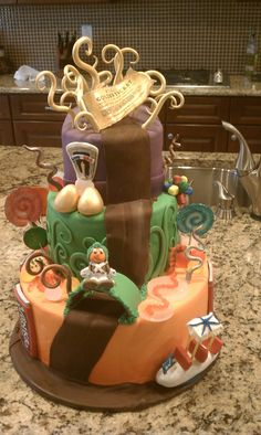 Willy Wonka Cake made by Caketini in Arizona