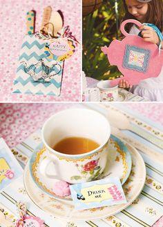 Alice in Wonderland Mad Hatter Tea Party