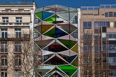 The many colors of Paris's modern architecture - Citroen C42
