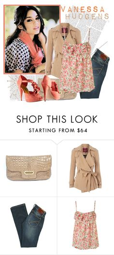 """""""Vanessa"""" by ikaley ❤ liked on Polyvore featuring Disney, Jimmy Choo, Matthew Williamson, French Connection, H&M, skinny jeans, disney, vanessa hudgens, high school musical and top set"""