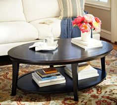 Metropolitan Oval Coffee Table