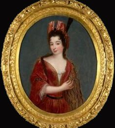 Gabrielle de Rochechouart, Marquise de Thianges (1633-1693), sister to the king's maitress-en-titre Madame de Montespan, and rumored to have briefly been a mistress to Louis XIV herself.