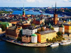 Stockholm, Sweden. The amount of places I want to visit is astonishing.