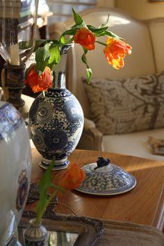 colorful charming Dutch cottage .. X ღɱɧღ   