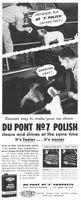 Du Pont No 7 Polish 1954 Ad Picture