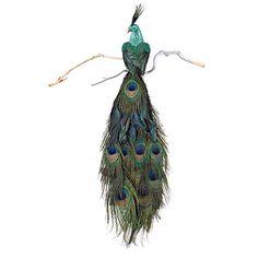 Majestic Peacock Clip Ornament