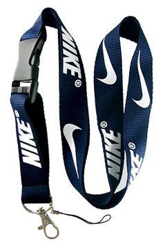 b3a31df36 Nike Sports Neck Lanyard Snap Buckle (NAVY BLUE) Nike Lanyard, Thread  Wallets,