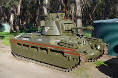 """For sale: One of the 25 Australian """"Matilda Frog"""" Flamethrower Tanks Used in World War II Matilda, Armored Fighting Vehicle, World Of Tanks, Military Equipment, Armored Vehicles, Military Aircraft, World War Two, Military Vehicles, Wwii"""