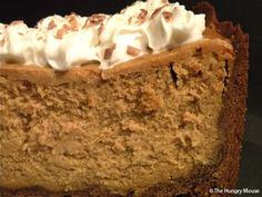 Brown-Sugar Pumpkin Cheesecake with Chocolate-Shortbread Crust