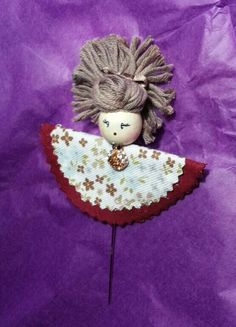 Aguja alfiler muñeca Moñita 8