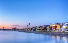 Matt Aden Photography   -    Mission Beach Sunrise