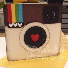 Instagram Mickey -  Michelle Suit, A fun, little card for any occasion.