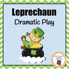 "Create a festive dramatic play area this St. Patrick's Day!! Enter for your chance to win 1 of 3. St. Patrick's Day Leprechaun Dramatic Play Area  (32 pages) from Oh, Boy! Oh, Boy! Oh, Boy! Homeschool on TeachersNotebook.com (Ends on on 03-09-2016) Students will enjoy counting, sorting and exploring money as well as ""making"" shoes like little Leprechauns!."