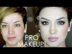 In this Pro Makeup Tutorial For Beginners going to show you .- In this Pro Makeup Tutorial For Beginners going to show you how to achieve a makeup look that will have you feeling like a pro makeup artist! Make Up Tutorials, Makeup Tutorials Youtube, Makeup Tutorial For Beginners, Beginner Makeup, Eye Makeup, Makeup Tips, Beauty Makeup, Glam Makeup, Makeup Ideas