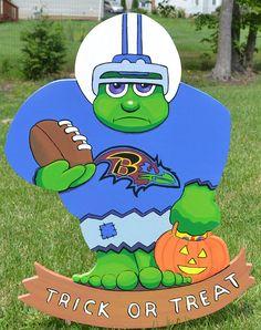 Halloween Baltimore Ravens football team