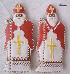 Advent, Gingerbread, Cookies, Christmas Ornaments, Holiday Decor, Food Garnishes, Random Stuff, Crack Crackers, Ginger Beard