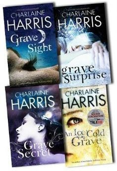 Charlaine Harris Collection Harper Connelly Mysteries series 4 Books Set pack PB