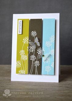 Lostinpaper - Penny Black - embossed flower Enamor - With Sympathy card (video)